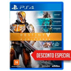 DESTINY: A COLETÂNEA PS4 - R$ 130