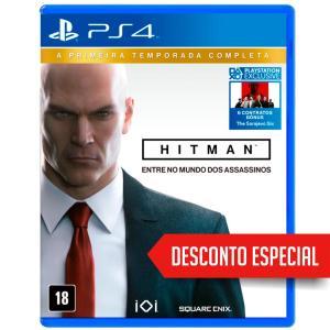 HITMAN: A PRIMEIRA TEMPORADA COMPLETA PS4 - R$ 130