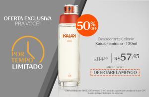 Desodorante Colônia Kaiak Feminino - 100ml - R$57