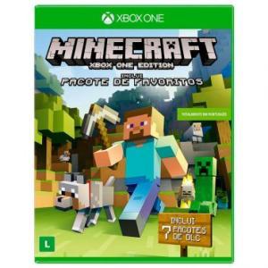 Jogo Minecraft: Edição Favorite Packs para Xbox One - R$29,90