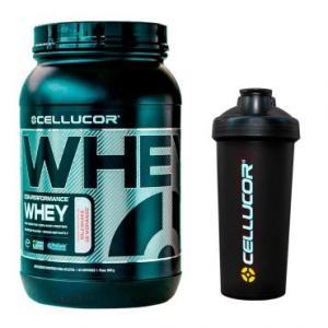 Whey Cor-Performance Cellucor - Morango 900g + Coqueteleira 600ml - Cellucor - R$110