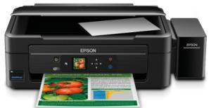 Multifuncional Epson Ecotank L455 Preta Wi-Fi, Impressora, Copiadora, Scanner por R$ 850