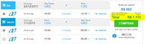 [Atualizado]Passagens para Paris por apenas 1.012 ida e volta com taxas inclusas!!