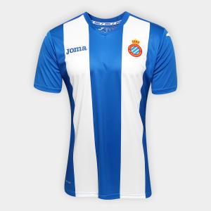 Camisa Espanyol Home 15/16 S/Nº Torcedor Joma - R$89,90