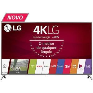 "Smart TV LED 43"" LG 43UJ6525 Ultra HD 4K com Conversor Digital 4 HDMI 2 USB por R$ 2151"