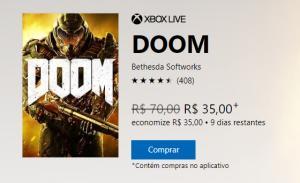 Doom (Xbox Live) - R$35