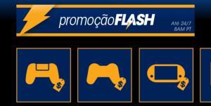 Promoção Flash na PSN