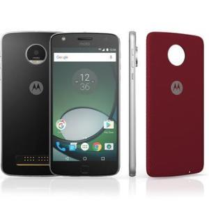 Smartphone Moto Z Play Preto Dual Chip Android Marshmallow 16MP + Capa vermelha - R$1.484