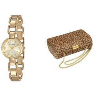 Relógio Feminino Mondaine, Analógico, Pulseira de Metal, Caixa de 2,8 cm, Resistente à Água 3 ATM - 83264LPMVDM1