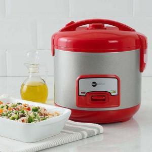 Panela Elétrica de Arroz Fun Kitchen Colors 5 Xícaras Vermelho - R$89,99