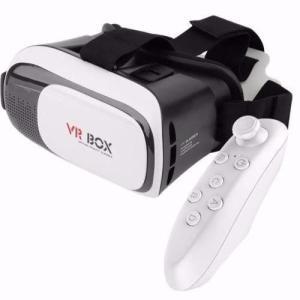 Óculos Vr Box 2.0 Realidade Virtual 3d Android Ios Controle - R$27