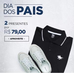 Roupas, sapatos e acessórios, 2 por R$79
