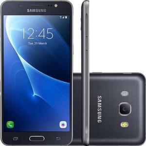 "Smartphone Samsung Galaxy J5 Metal Dual Chip Android 6.0 Tela 5.2"" 16GB 4G Câmera 13MP - Preto- R$699"