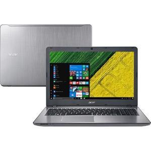 """Notebook Acer F5-573G-519X Intel Core 7 I5 8GB (GeForce 940MX com 2GB) 2TB LED 15.6"""" Windows 10 - Prata valor de 2.429$ no boleto"""