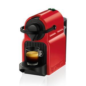 Diversas Cafeteiras Nespresso em Promoção, Inissia Vermelho Rubi por R$ 239 + 100 reais em capsulas