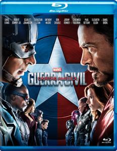 Capitão América - Guerra Civil - Blu-Ray - R$19