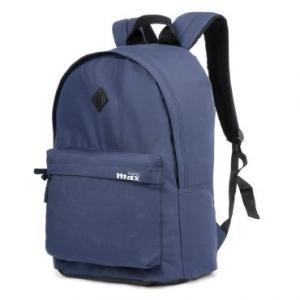 Mochila em Poliéster MB-6600A, Bolso Frontal, Alças Reguláveis, Azul - Travel Max - R$19