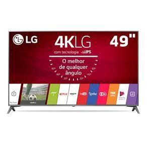 "Smart TV LED 49"" Ultra HD 4K LG 49UJ6565 - R$2801,55"