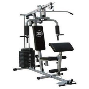 Estação De Musculação Com 80kg Aparelho Ginástica - R$ 1.699,99