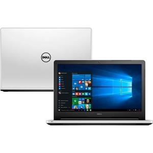 Notebook Dell Inspiron i15-5558-b40 Intel Core i5 8GB (GeForce 920M de 2GB) 1TB Tela 15,6'' Windows 10 - Branco R$2.249