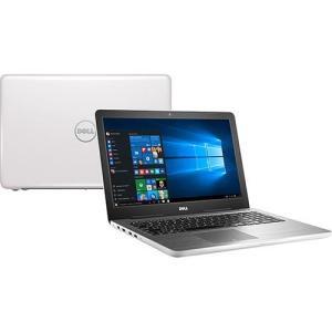 "Notebook Dell Inspiron i15-5567-A30B Intel 7 Core i5 8GB (AMD Radeon R7 M445 de 2GB) 1TB Tela LED 15,6"" Windows 10 - Branco - R$2519"