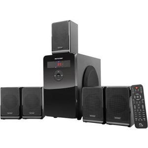 Caixa De Som 5.1 Home Theater MultiLaser Sp177 80w Rms - R$ 257,62