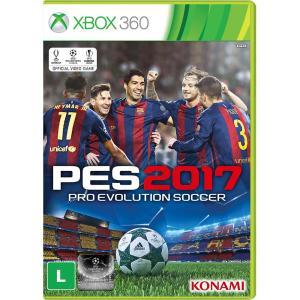 PES 2017 - XBOX 360 - R$60