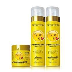 Kit Eico Seduction #AmoooCachos Shampoo + Condicionador + Máscara - R$30