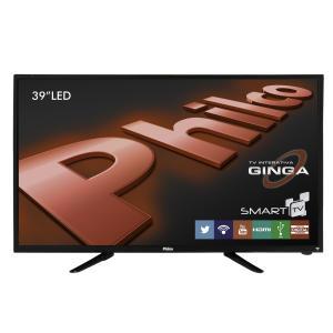 """Smart TV LED 39"""" Philco PH39N86TSGW HD 3 HDMI 2 USB - R$1199"""