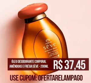 Óleo Sève Amêndoas Doces R$37