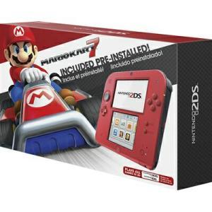 Console Nintendo 2DS Vermelho + Jogo Mario Kart