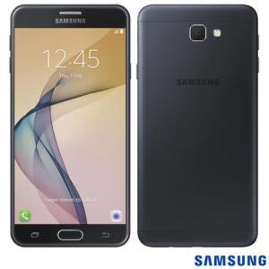 """Samsung Galaxy J7 Prime Preto, com Tela de 5,5"""", 4G, 32 GB por R$ 884"""