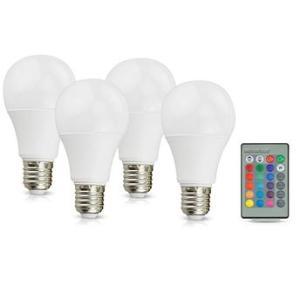 Kit com 4 Lâmpadas LED Mainstays por R$ 76