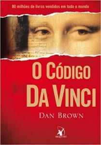O Código da Vinci (Português) Capa Comum por R$ 9