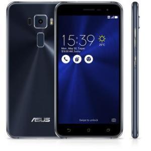 Smartphone Asus Zenfone 3 ZE520KL Preto Safira Android 6.0 4G 5.2 GB RAM Câmera 16 MP Frontal 8 MP R$999