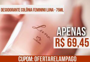 Desodorante Colônia Feminino Luna - 75ml - R$69