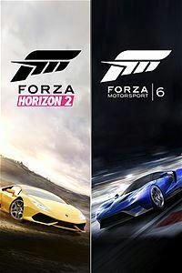 Bundle Forza 6 + Forza Horizon 2 promoção na LIVE - R$ 82