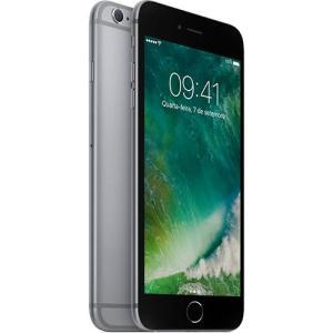 "iPhone 6s Plus 32GB Cinza Tela Retina HD 5,5"" 3D Touch Câmera 12MP - Apple por R$ 2790"