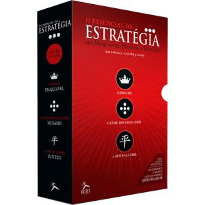Box de Livros - O Essencial da Estratégia (3 Volumes) - R$16