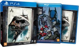 Batman - Return To Arkham - Edição Limitada - PS4 - R$65