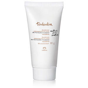 Desodorante Antitranspirante em Creme Macadâmia Tododia - 80g - R$ 9