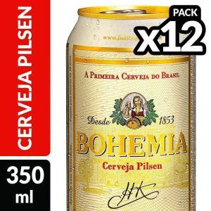 Cerveja BOHEMIA 350ml a R$1,37 usando App Pão de Açucar Mais com Frete Grátis