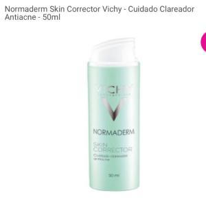 Normaderm Skin Corrector Vichy - Cuidado Clareador Antiacne - 50ml  - R$78