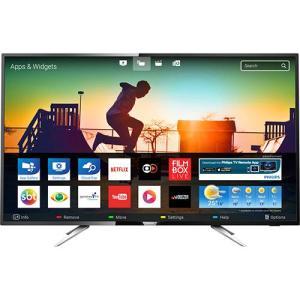 """Smart TV LED 50"""" Philips 50PUG6102/78 UHD 4K com Conversor Digital 4 HDMI 2 USB Wi-fi 60hz -  Por R$ 2,479.99"""