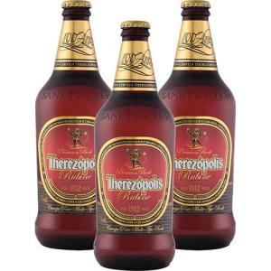 Kit com 3 Cervejas Therezópolis Rubine Bock 600ml por R$ 30