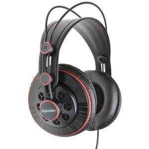 Headphone - Superlux HD681 3.5mm Jack - Preto/Vermelho - R$ 63