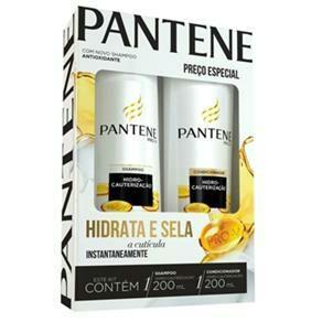 Kit shampoo + condicionador Hidrocauterização 200ml - Pantene R$15