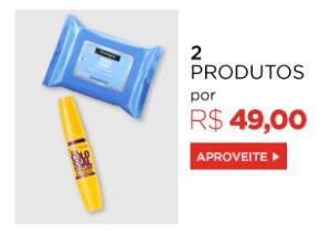 2 produtos de beleza por R$49