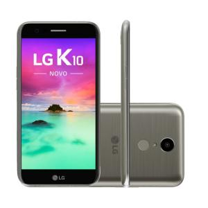 Smartphone LG K10 Novo M250DS Titânio por R$ 595