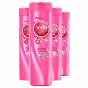 Leve Mais Pague Menos: 4 Shampoos Seda SOS Ceramidas 325ml
